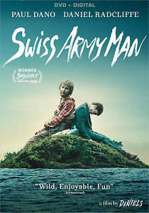 Swiss Army Man (DVD w/ Digital Copy, 2016) stars Paul Dano & Daniel Radcliffe