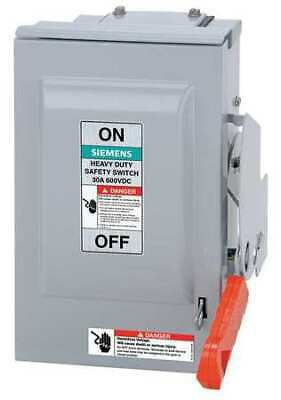 Siemens Hnf362pv 600vacdc Solar Safety Single Throw Disconnect Switch 3pst