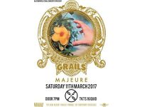 GRAILS PLUS SPECIAL GUESTS MAJEURE AT OSLO