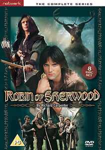 ROBIN OF SHERWOOD complete series. 8 discs. Jason Connery Michael Praed New DVD.