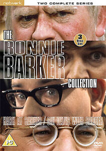THE RONNIE BARKER collection. Six Dates With Barker, Hark At, 3 discs. New DVD.