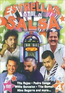 NEW Estrellas De La Salsa Vol. 4 (DVD)