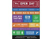 BREWERY OPEN DAY