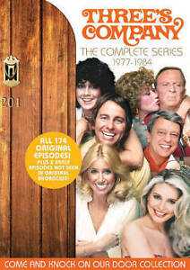 Threes Company: The Complete Collection (DVD, 2018)