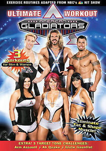 Ametican Gladiators Ultimate Workout DVD,Weights London Ontario image 1