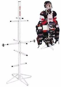 New Hockey Equipment Drying Rack FREE SHIPPING Organizer Bag De-Clutter NO MORE STINKY EQUIPMENT
