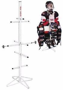 New Hockey Equipment Drying Rack FREE SHIPPING Organizer Bag De-Clutter NO MORE STINKY EQUIPMENT