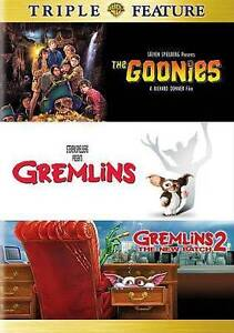 Gremlins Complete Movies 1 & 2 The New Batch + Goonies NEW TRIPLE DVD SET