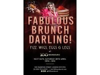 FABULOUS BRUNCH, DARLING: DRAG BRUNCH