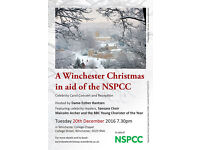 A WINCHESTER CHRISTMAS CONCERT AND CHAMPAGNE RECEPTION