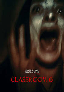 Classroom 6 (DVD, 2016) Found Footage Horror