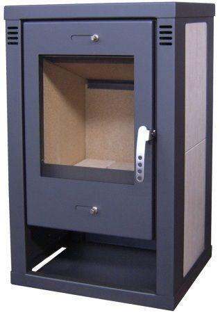 kaminofen 12kw fen ebay. Black Bedroom Furniture Sets. Home Design Ideas
