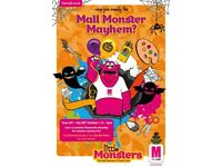 'MONSTER MAYHEM' AT THE MALL