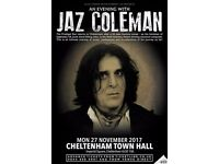 JAZ COLEMAN at Cheltenham Town Hall