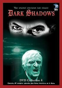 Dark-Shadows-Collection-4-Used-DVD-2003-4-Disc-Set-Four-Disc-Set
