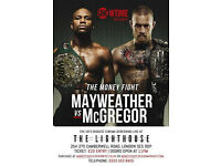 MAYWEATHER VS MCGREGOR - UKS BIGGEST CINEMA SCREENING