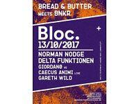 MEETS BNKR AT BLOC. W/ NORMAN NODGE, DELTA FUNKTIONEN AND MORE