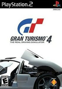 PlayStation 2 Gran Turismo 4 Driving Simulator Game