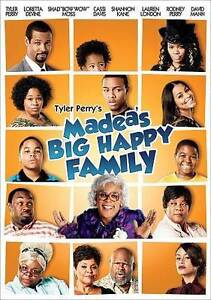 TYLER PERRY'S MADEA'S BIG HAPPY FAMILY [DVD] - NEW DVD