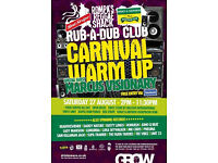 ROMPA'S REGGAE SHACK CANALSIDE CARNIVAL WARM-UP PARTY