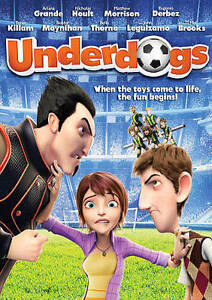 Underdogs (DVD, 2016) NEW w/ SLIPCOVER Ariana Grande