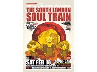 The South London Soul Train with JHC, Gene Dudley Group + More on 4 Floors