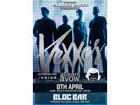 CAMDEN ROCKS PRESENTS VEXXES & MORE AT BLOC BAR CAMDEN