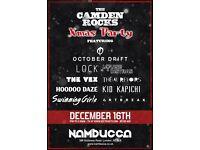THE CAMDEN ROCKS ALL NIGHT XMAS PARTY AT NAMBUCCA