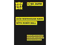 Memory Box Acid Warehouse Rave on June 30, 2017