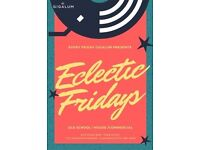 Eclectic Fridays at Gigalum on May 26, 2017