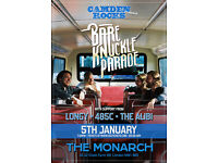 CAMDEN ROCKS PRESENTS BARE KNUCKLE PARADE AND MORE