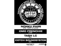 Cotch001 Release Party w/ Nonku Phiri, Omo Frenchie, Tash LC
