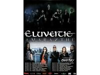 ELUVEITIE AND AMARANTHE LIVE AT ISLINGTON ASSEMBLY HALL, LONDON