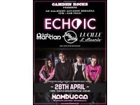 CAMDEN ROCKS ALL-NIGHT'ER FEAT. ECHOIC AND MORE AT NAMBUCCA