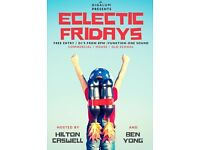 Eclectic Fridays on January 20, 2017
