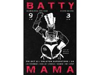 Batty Mama -Strip It Black