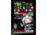 The Funk, Soul & Rare Groove Review 4 Yr Special w/MF Robots Live + More