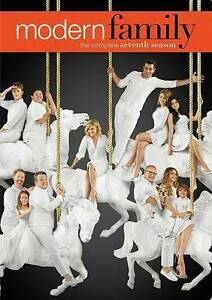 Modern Family: Season 7 (DVD, 2016, 3-Disc Set) NEW
