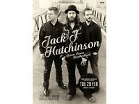 JACK J HUTCHINSON'S BOOM BOOM BROTHERHOOD ON FEBRUARY 28, 2017