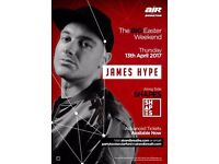 Air & Breathe Presents: James Hype