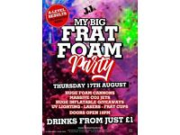 My Big Frat Foam Party