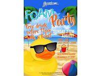 Bank Holiday Sunday | Foam Party