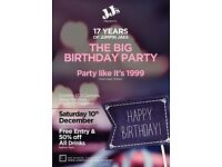The Big Birthday Party: 17 Years of Jumpin Jaks