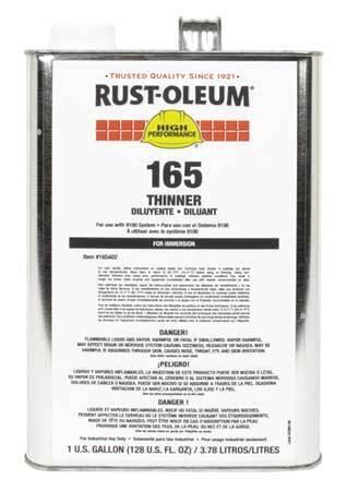 Rust-Oleum 165402 Paint Thinner,1 Gal.