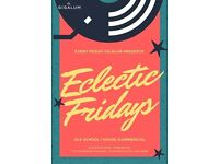 Eclectic Fridays - Funk | New Disco | Indie | Rock on December 16, 2016