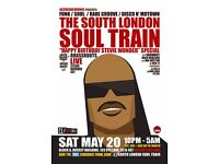 The South London Soul Train Happy Birthday Stevie Wonder Special + More