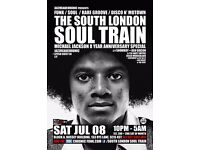 The South London Soul Train - Michael Jackson 8 Year Anniversary Special