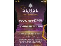 Sense Traxx 4th Birthday 10th Dec w/ Riva Starr & Josh Butler @ Talk