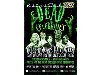 Dead Celebrities Halloween Party