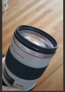 Canon L series lens 70-200 2.8  IS